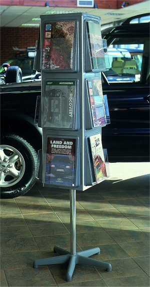 Expo Display Service Literature Dispensers