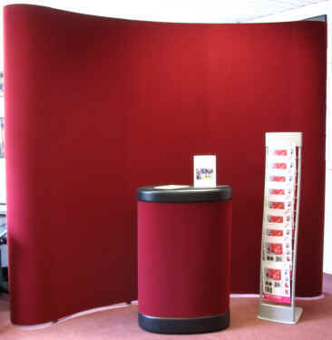 Expo Quick popup stand on special offer.